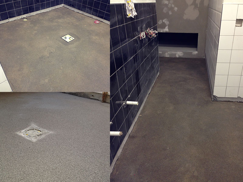 Knead bakery kitchen arsolutions for Kitchen floor solutions