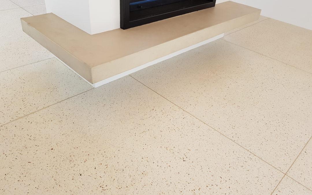 Philedelphia Terrazzo with Yellow Domomite Floors